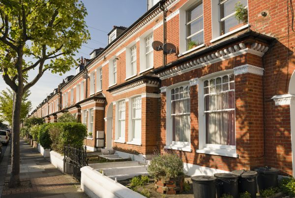 Terraced Residential Houses in South London