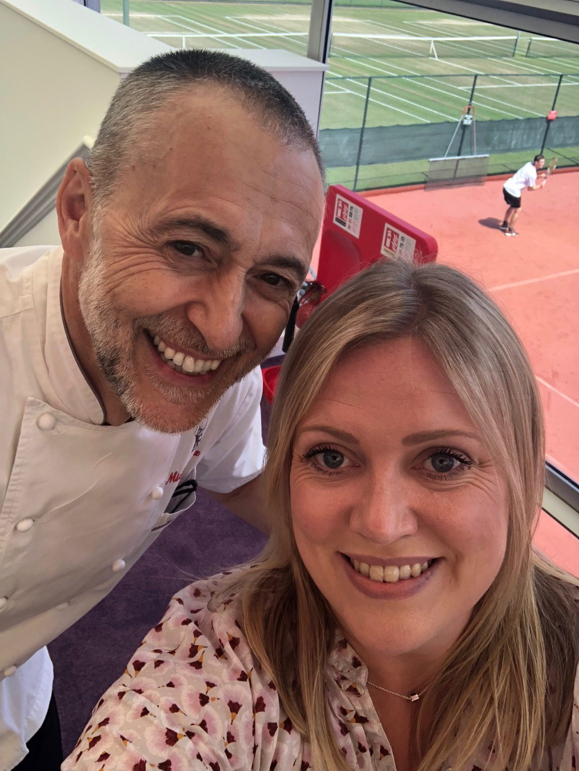 Sofia Lennquist & Michel Roux Jr.