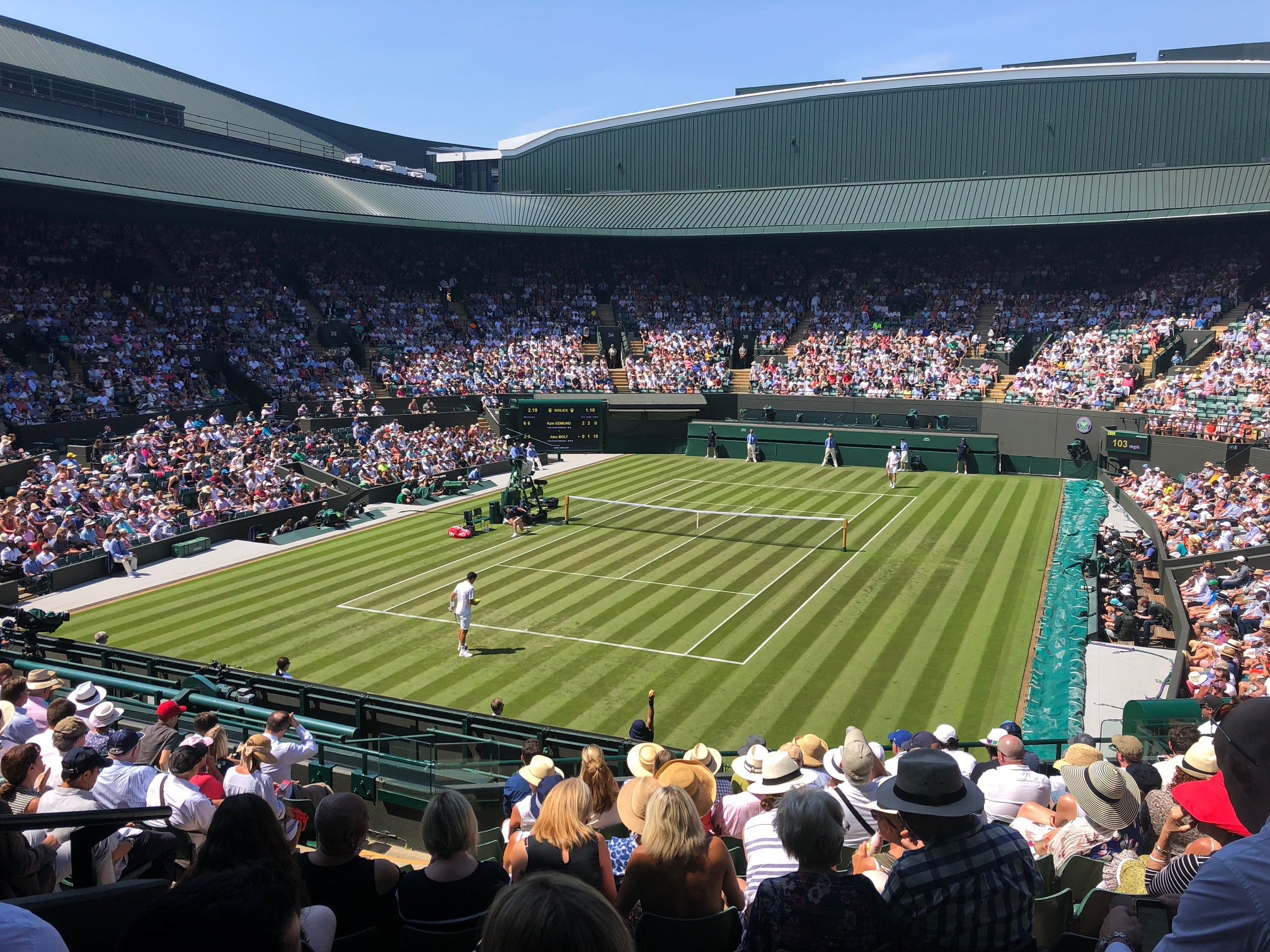 Number One Court at Wimbledon